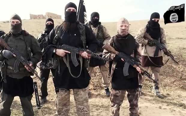 Các chiến binh của tổ chức khủng bố IS