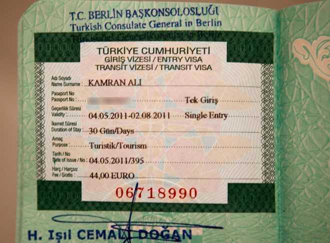 Thổ Nhĩ Kỳ bác tin áp dụng thị thực đối với công dân Iran, Nga - Ảnh minh họa