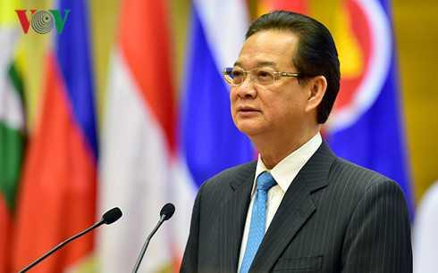 Thủ tướng trân trọng cảm ơn và kêu gọi cộng đồng quốc tế tiếp tục có những tiếng nói và hành động mạnh mẽ ủng hộ nỗ lực của Việt Nam, của ASEAN.