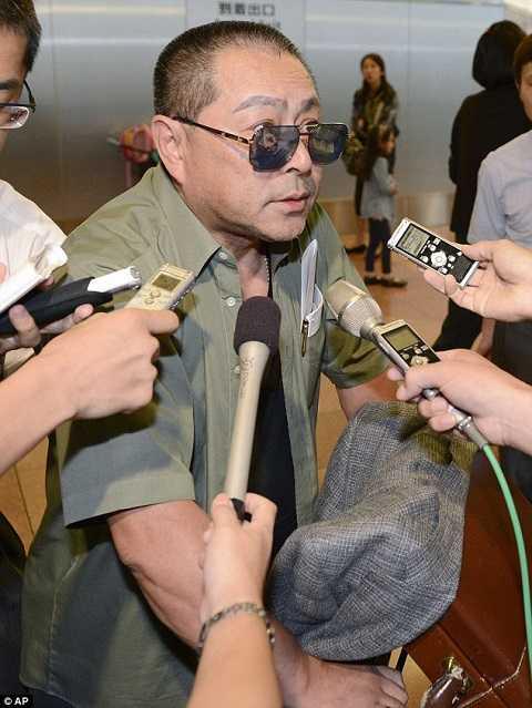 Fujimoto trở lại Nhật Bản sau lần về thăm Bình Nhưỡng