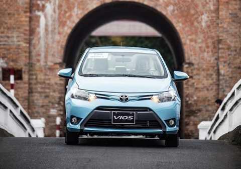 Toyota Vios nắm chắc ngôi vị số 1 của VAMA khi xét về lượng tiêu thụ.
