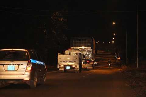 Sở GTVT Đắk Lắk đưa xe về Sở để xử lý
