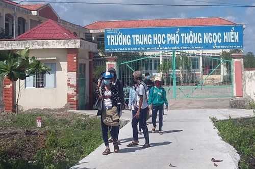 Ngôi trường nơi thầy giáo Thanh Đen đánh cắp đề thi