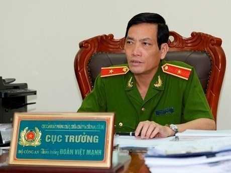 Cục trưởng Cục Phòng cháy chữa cháy Đoàn Việt Mạnh (Ảnh: Thanh Liêm)