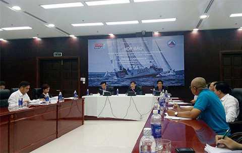 Chiều 12/1, UBND TP Đà Nẵng đã tổ chức Họp báo công bố thông tin về Cuộc đua thuyền buồm vòng quanh thế giới Clipper 2015 -2016