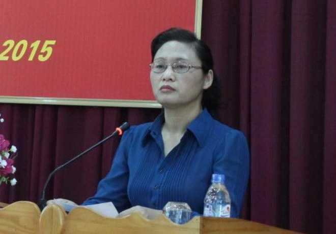 Bà Nguyễn Thị Lĩnh - Tân Phó chủ tịch tỉnhThái Bình. Ảnh: Báo Thái Bình.