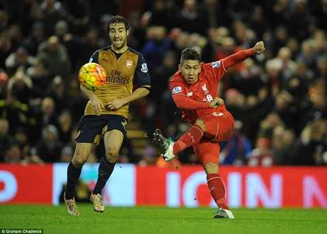 Liverpool, Arsenal chia điểm sau trận cầu 6 bàn thắng