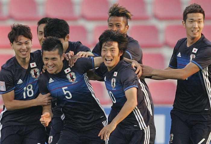 U23 Nhật Bản đang tạm dẫn đầu bảng B VCK U23 châu Á (ảnh: AFC)