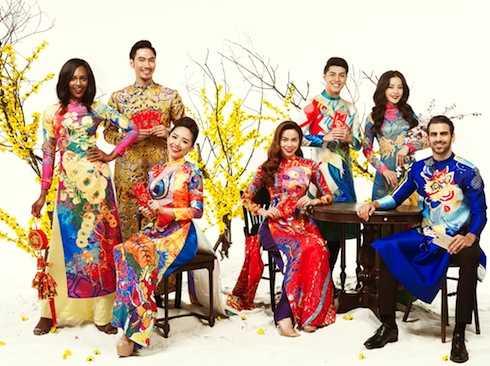 Hồ Ngọc Hà, Chi Pu khoe dáng trong tà áo dài cùng Tân quán quân ANTM.