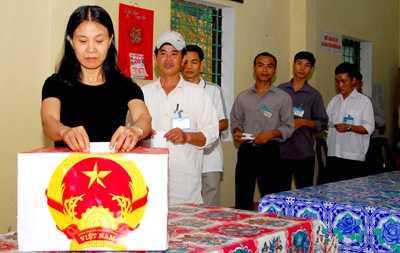 Thủ tướng Chính phủ vừa có chỉ thị tích cực chuẩn bị cho cuộc bầu ử ĐBQH và HĐND