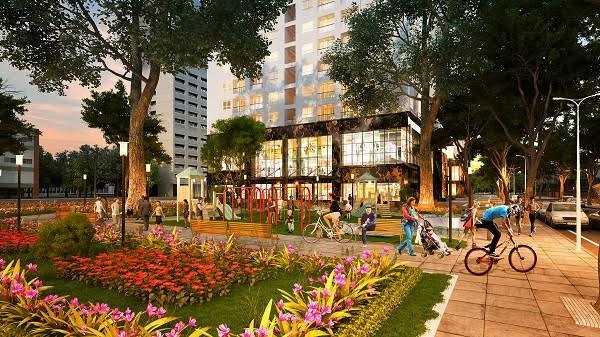Cư dân Mon City sẽ được tận hưởng nhiều tiện ích quanh khu vực cũng như tiện ích nội khu