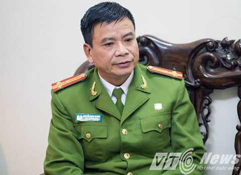 Thượng tá Nguyễn Minh Quang - Phó trưởng Công an TP Thái Bình