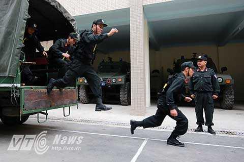 Luôn sẵn sàng trong mọi tình huống, Đại đội Cảnh sát cơ động - Đặc nhiệm là