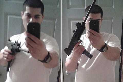 Bị bắt sau khi đăng hình tự sướng cùng súng lên Facebook