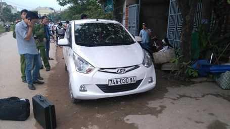 Chiếc xe ô tô ông D., đã điều khiển và bị cướp tiền
