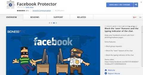 Ứng dụng Facebook Protector giúp ngăn bị thêm vào nhóm không mong muốn