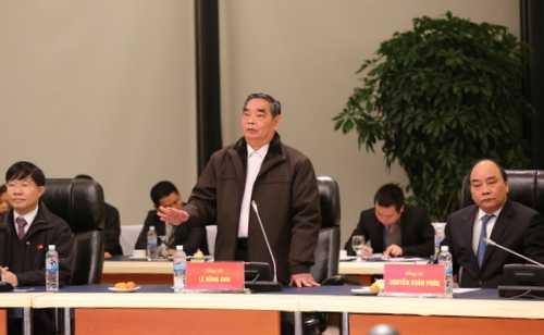 Thường trực Ban Bí thư Lê Hồng Anh chủ trì cuộc họp rà soát công việc
