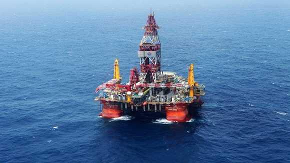 Giàn khoan Hải Dương 981 của Trung Quốc trên Biển Đông.