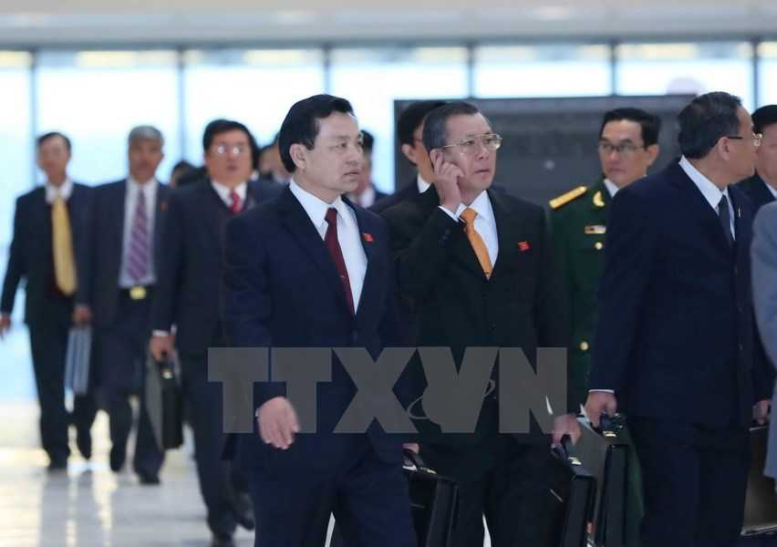 Các đại biểu đến dự Đại hội. (Ảnh: TTXVN)