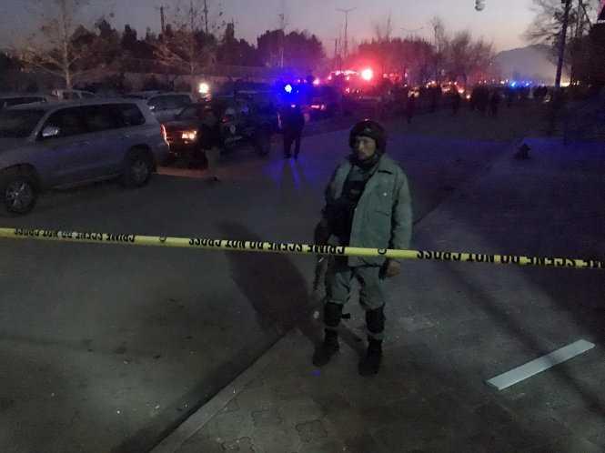 Đánh bom gần đại sứ quán Nga ở Afghanistan