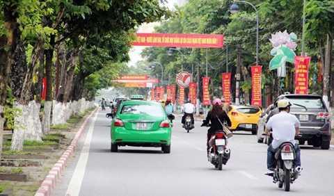 Một góc đường phố Lê Mao, TP Vinh, Nghệ An - Ảnh: Doãn Hòa