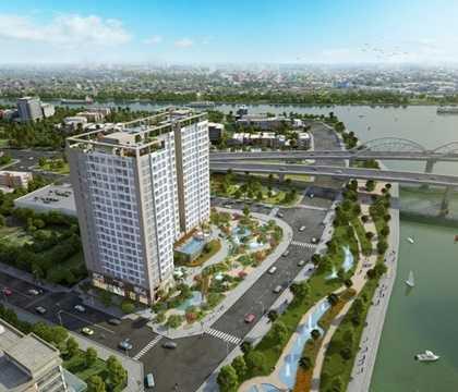 Dự án có chủ đầu tư là Công ty cổ phần thương mại Địa ốc Việt (Vietcomreal) hợp tác đầu tư với Công ty TNHH Đầu tư Địa ốc Tiến Phát. Đơn vị thi công là Công ty cổ phần Xây dựng và kinh doanh Địa ốc Hòa Bình.
