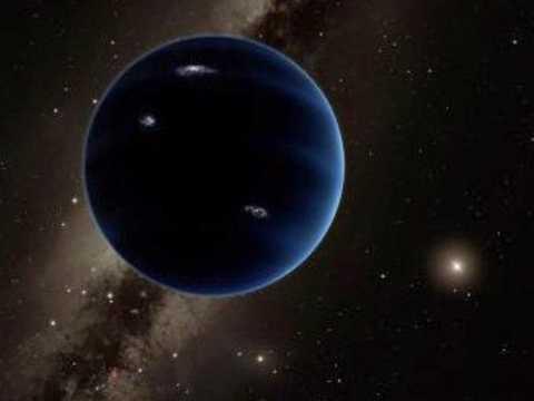 Ảnh mô phỏng của hành tinh thứ 9 có thể tồn tại trong hệ mặt trời.