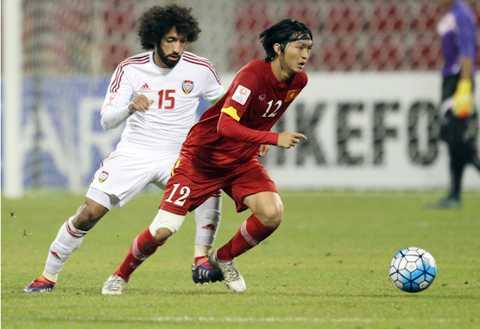 Tuấn Anh không những chơi hay mà còn ghi bàn cho U23 Việt Nam