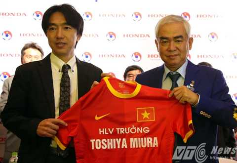 BLV Quang Huy cho rằng, mối tình VFF - Miura nên chấm dứt (Ảnh: Quang Minh)