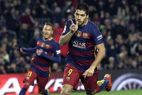 Barca tối nay sẽ trông chờ nhiều vào Suarez và Messi