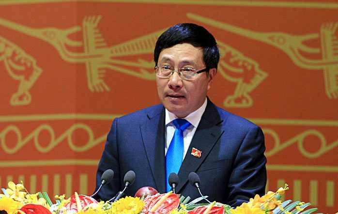 Phó Thủ tướng Phạm Bình Minh