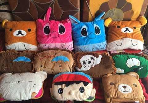 Túi sưởi là một trong những mặt hàng bán chạy trong ngày Hà Nội rét đậm. Ảnh: TT.