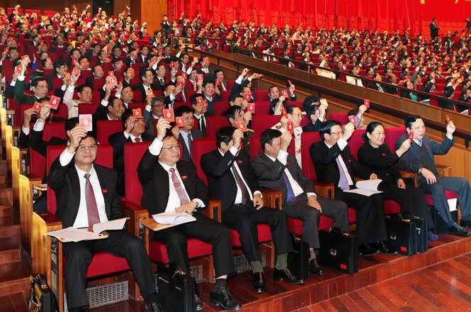 Đại hội Đảng XII đã chốt số lượng Ban Chấp hành khóa mới gồm 180 Ủy viên Trung ương chính thức và 20 Ủy viên dự khuyết.
