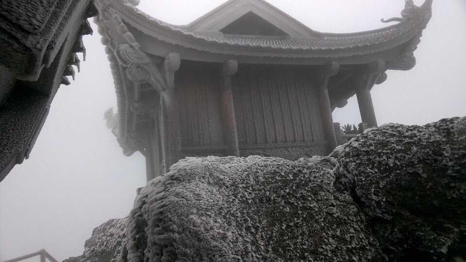 Trên chùa Đồng, Yên Tử
