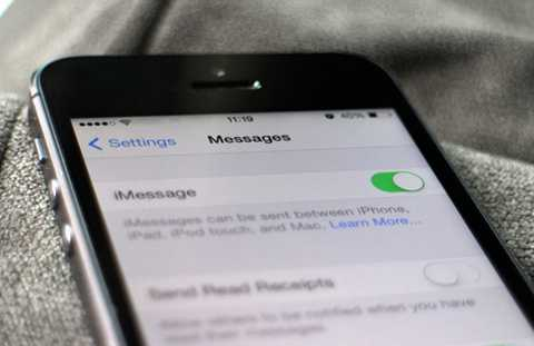Một số người dùng tại Việt Nam đang gặp vấn đề với dịch vụ nhắn tin iMessage