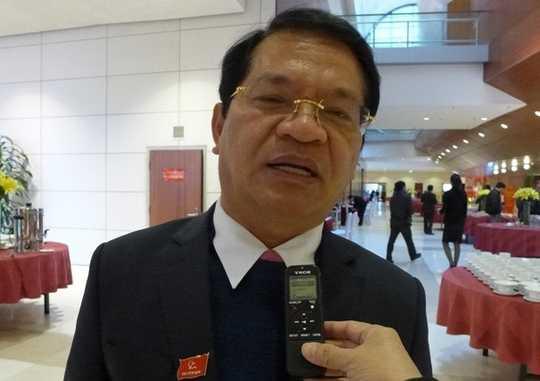 Ông Lê Viết Chữ, Bí thư tỉnh ủy Quảng Ngãi.