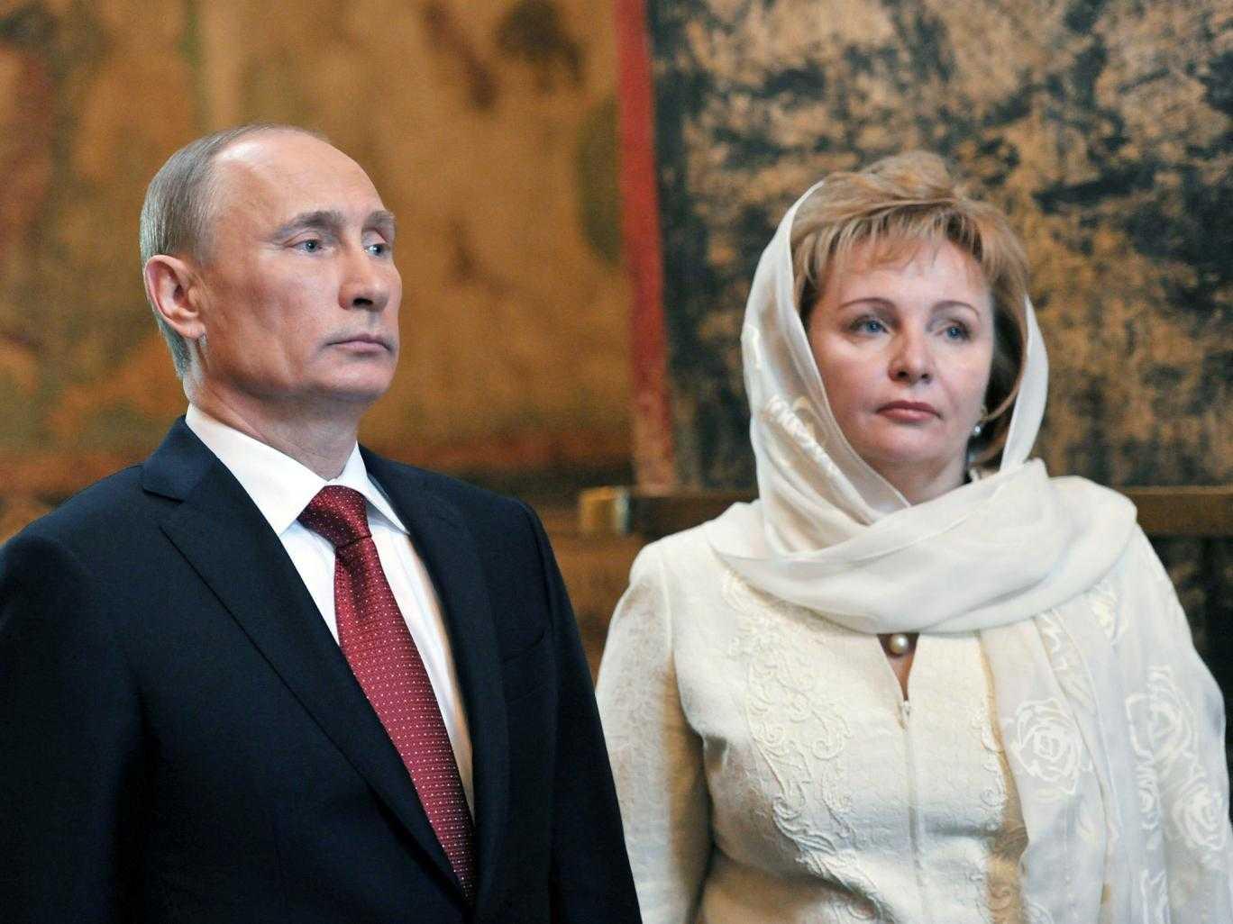 Ông Putin và bà Lyudmila