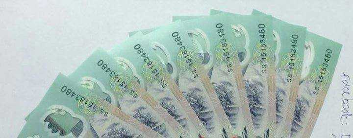 Những tờ tiền giả trùng số seri và được cho là giống với tiền thật có cùng mệnh giá 98 - 100%