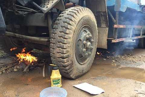 Lượng khí bay hơi trong bình dầu có nguy cơ phát nổ nguy hiểm hơn là nguy cơ trực tiếp bắt cháy trực tiếp từ dầu diesel