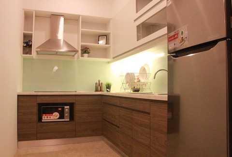 Khu vực phòng bếp gọn gàng, đầy đủ tiện nghi, sẵn sàng đáp ứng cho cuộc sống hiện đại