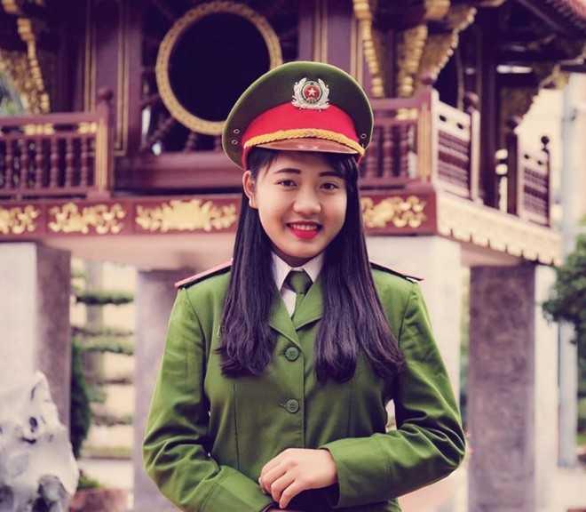 Nữ thủ khoa Đinh Thị Mỹ Châu.