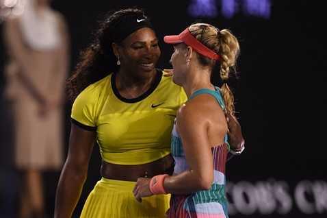 Serena chưa thể cân bằng 22 lần giành Grand Slam của đàn chị Steffi Graf