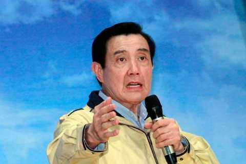 Lãnh đạo Đài Loan Mã Anh Cửu họp báo sau khi trở về từ chuyến đi trái phép đến đảo Ba Bình