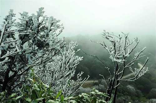 Đợt không khí lạnh sắp tới có thể gây băng giá ở miền Bắc (ảnh minh hoạ)