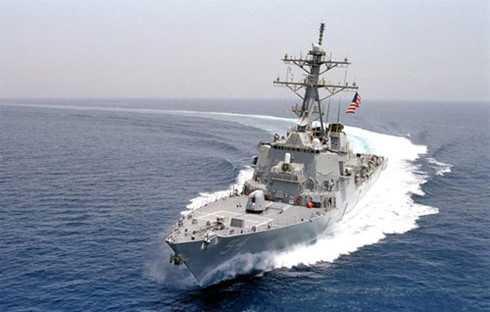 Tàu khu trục USS Curtis Wilbur