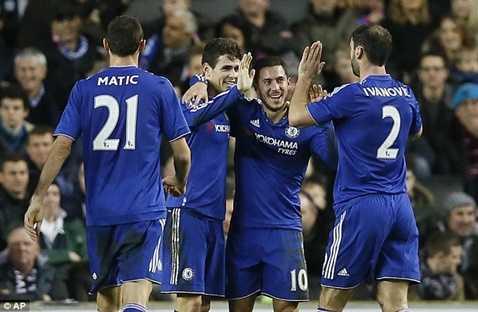 Chelsea sẽ đụng độ Man City ở vòng 5