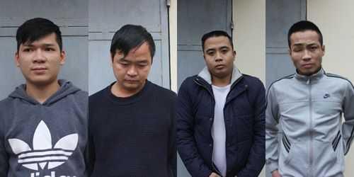 4 nghi can bị tạm giữ.
