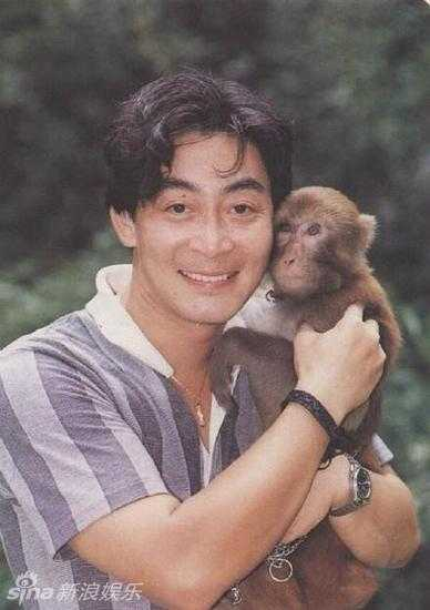 Chú khỉ giúp Lục Tiểu Linh Đồng thể hiện thành công vai diễn Tôn Ngộ Không.