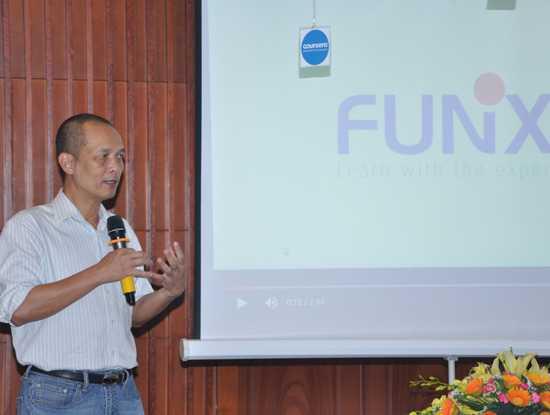 Phó chủ tịch Hội đồng quản trị Đại học FPT Nguyễn Thành Nam, người sáng lập đại học trực tuyến FUNiX.