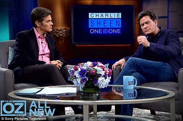 Charlie Sheen bày tỏ sự lo ngại khi virusHIV tăng lên nhanh chóng.